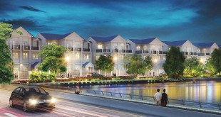 Biệt thự tại dự án lakeview city