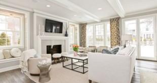 Cách tạo ngôi nhà ấn tượng với màu trắng sang trọng