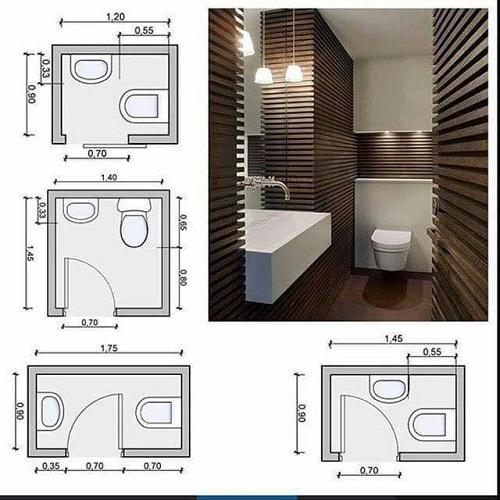 Lưu ý khi thiết kế nội thất phòng vệ sinh